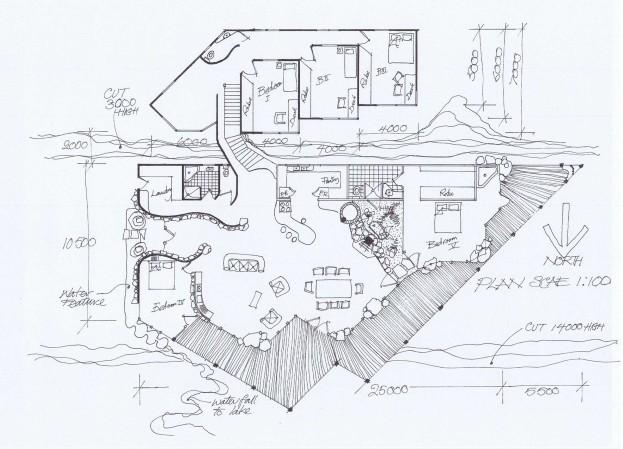 Tim Cawte Site Plan